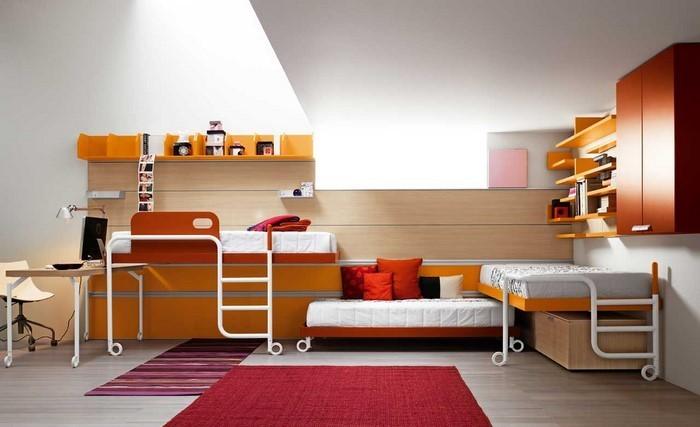 kinderzimmer-orange-eine-aussergewoehnliche-ausstattung