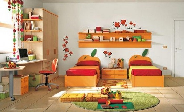 kinderzimmer-orange-eine-aussergewoehnliche-ausstrahlung