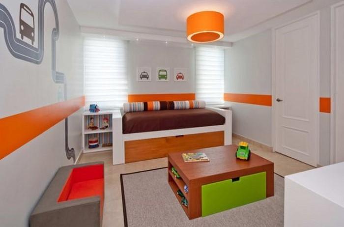 kinderzimmer-orange-eine-kreative-ausstattung