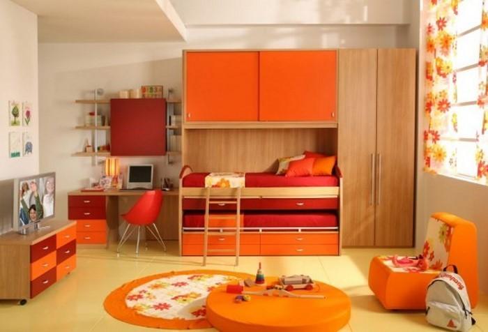 kinderzimmer-orange-eine-moderne-entscheidung