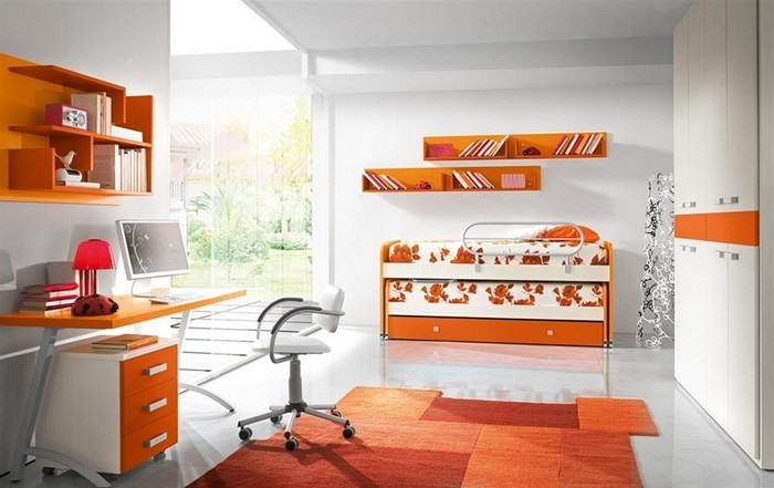kinderzimmer-orange-eine-verblueffende-ausstrahlung