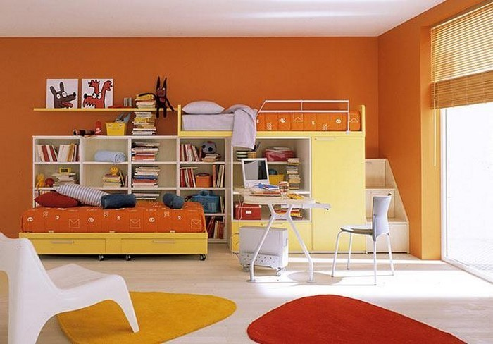 kinderzimmer-orange-wunderschoenes-interieur
