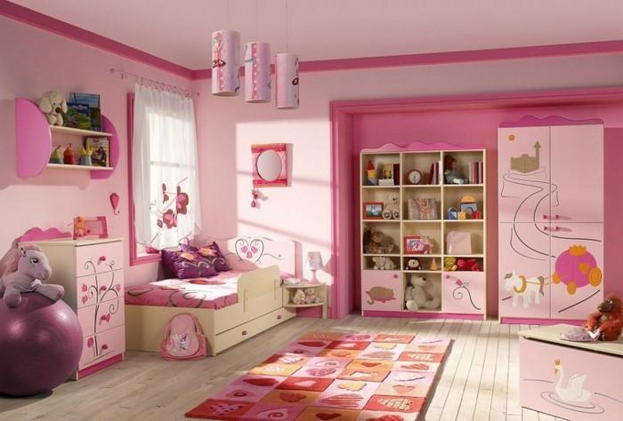 design : kinderzimmer design rosa kinderzimmer design ... - Gestalten Rosa Kinderzimmer Kleine Prinzessin