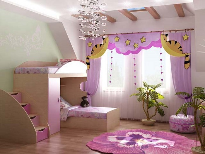 das kinderzimmer rosa gestalten das fr hliche rosa. Black Bedroom Furniture Sets. Home Design Ideas
