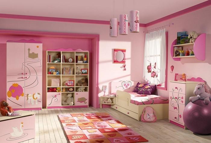 kinderzimmer-rosa-ein-verblueffendes-interieur