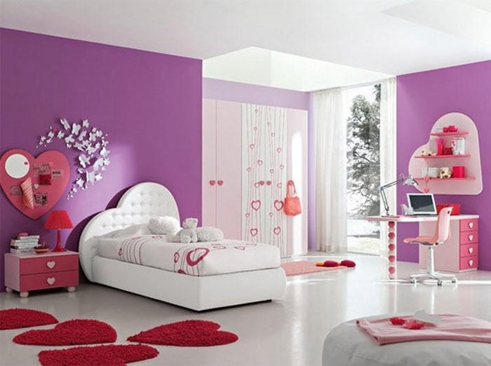 Schön Kinderzimmer Rosa Eine Auffaellige Ausstattung