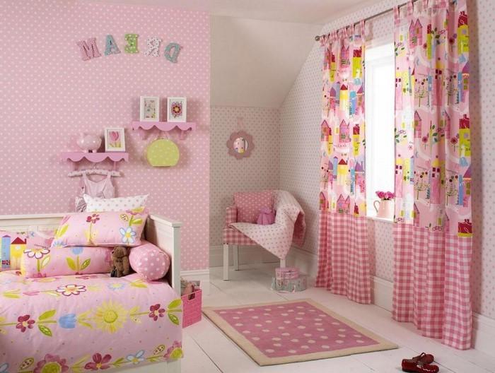Das kinderzimmer rosa gestalten das fr hliche rosa for Coole einrichtung