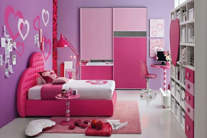 Kinderzimmer Wandfarbe Rosa : Das Kinderzimmer rosa gestalten: das ...