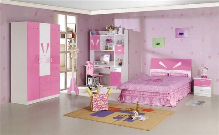 kinderzimmer-rosa-eine-verblueffende-dekoration