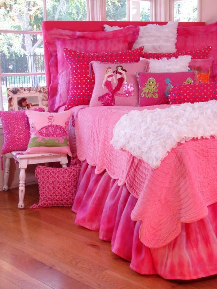 Das kinderzimmer rosa gestalten das fr hliche rosa for Kinderzimmer rosa