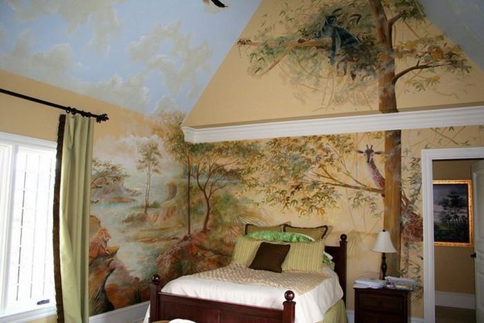 Kinderzimmer-farblich-gestalten-mit-Braun-Ein-außergewöhnliches-Design