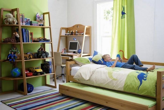 Kinderzimmer-farblich-gestalten-mit-Braun-Ein-außergewöhnliches-Interieur