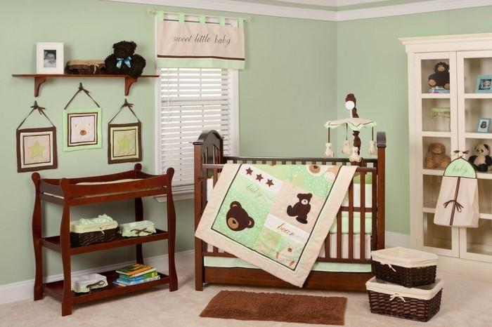 Kinderzimmer-farblich-gestalten-mit-Braun-Ein-auffälliges-Design