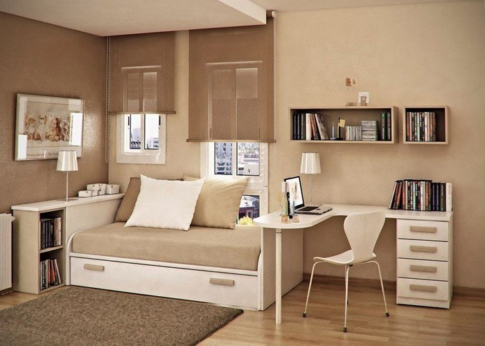 Kinderzimmer-farblich-gestalten-mit-Braun-Ein-modernes-Design