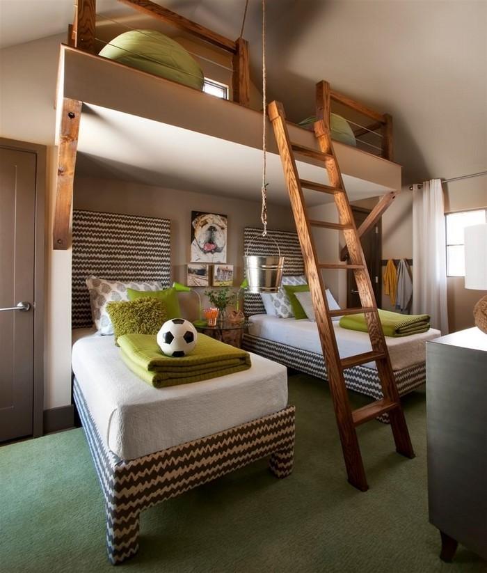 Kinderzimmer-farblich-gestalten-mit-Braun-Ein-verblüffendes-Interieur