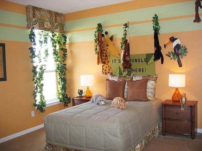 Kinderzimmer-farblich-gestalten-mit-Braun-Ein-wunderschönes-Interieur