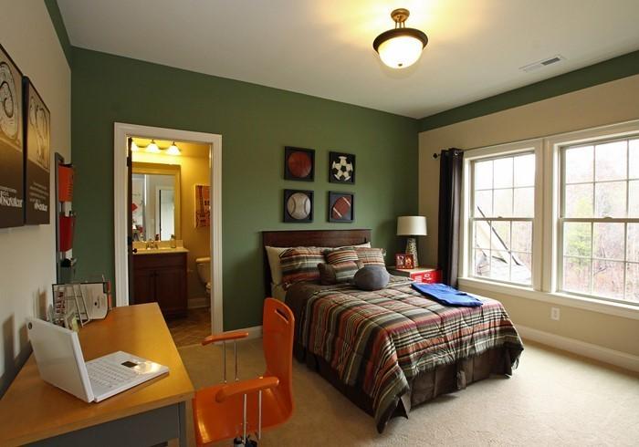 Kinderzimmer-farblich-gestalten-mit-Braun-Eine-außergewöhnliche-Еinrichtung