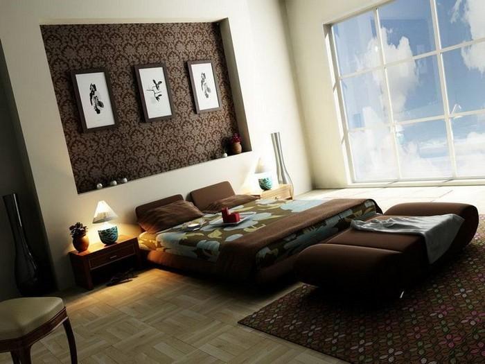 Wohnzimmer farblich gestalten braun  Kinderzimmer farblich gestalten: 70 Wohnideen mit der Farbe Braun