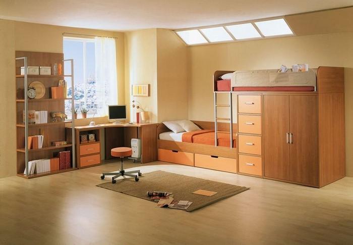 Kinderzimmer-farblich-gestalten-mit-Braun-Eine-außergewöhnliche-Ausstrahlung