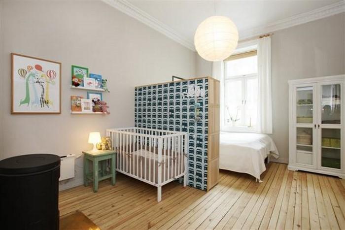 Kinderzimmer-farblich-gestalten-mit-Braun-Eine-außergewöhnliche-Dekoration