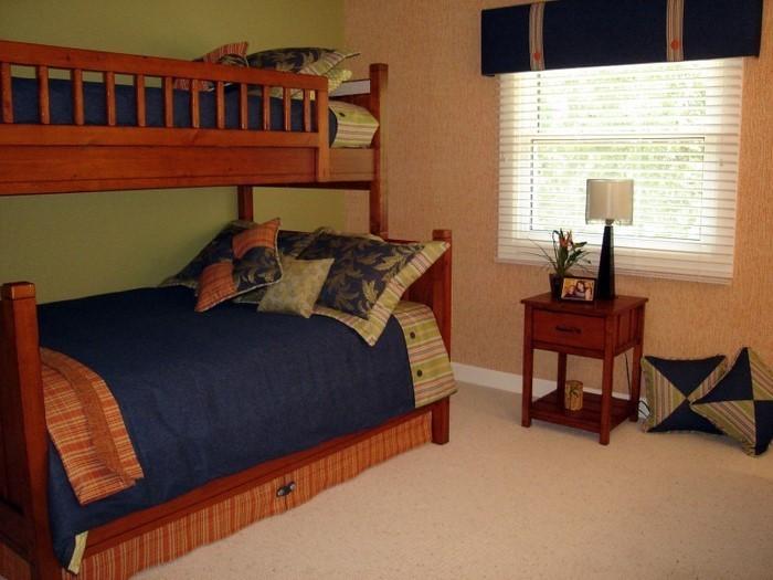 Kinderzimmer-farblich-gestalten-mit-Braun-Eine-auffällige-Еinrichtung