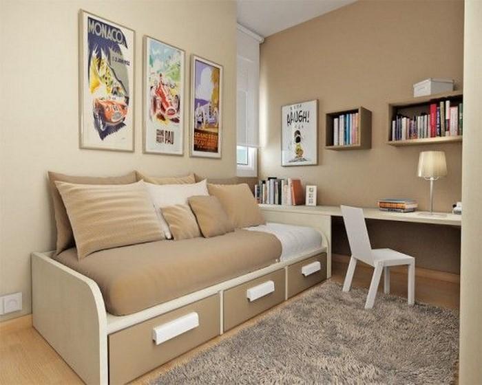 Kinderzimmer farblich gestalten 70 wohnideen mit der farbe braun - Braune wandgestaltung ...