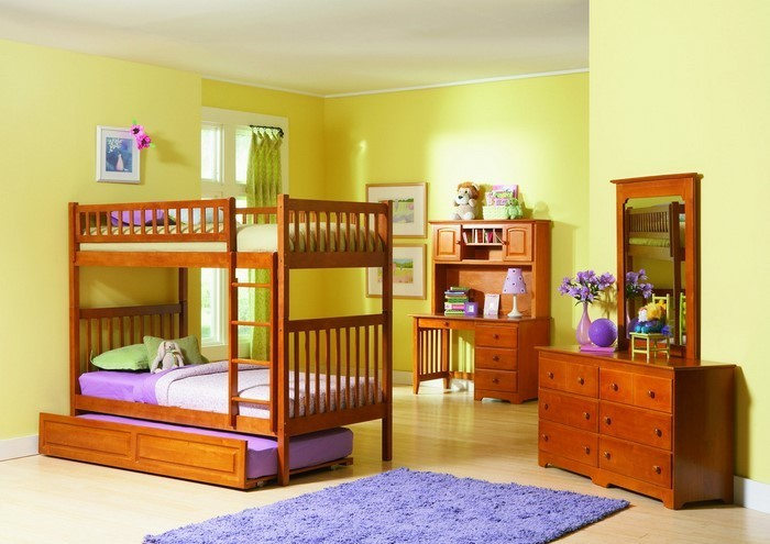 Kinderzimmer-farblich-gestalten-mit-Braun-Eine-auffällige-Gestaltung