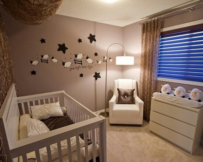 Kinderzimmer-farblich-gestalten-mit-Braun-Eine-coole-Еinrichtung
