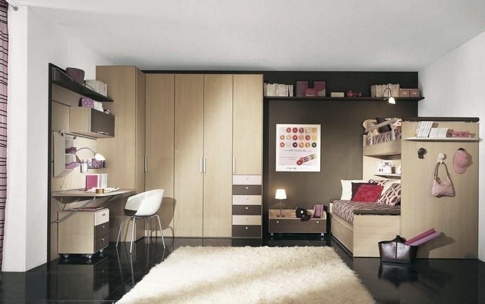 Kinderzimmer-farblich-gestalten-mit-Braun-Eine-kreative-Dekoration