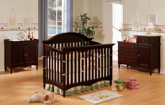 Kinderzimmer-farblich-gestalten-mit-Braun-Eine-moderne-Еinrichtung