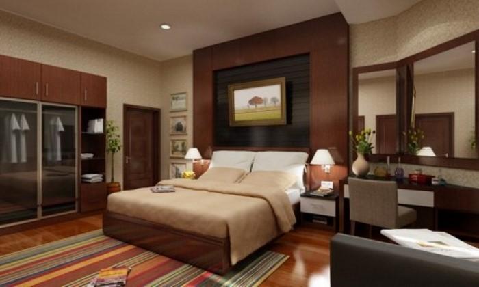 Schlafzimmer Wände Farblich Gestalten Braun ~ Schlafzimmer Farblich Gestalten Braun  Kinderzimmer mit braunen