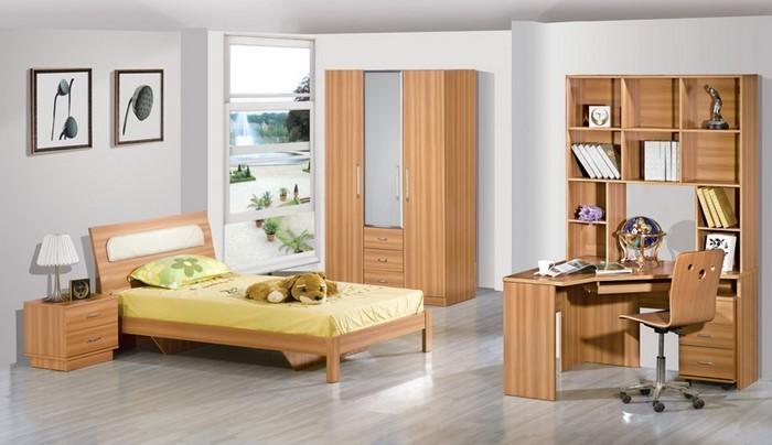Kinderzimmer-farblich-gestalten-mit-Braun-Eine-moderne-Gestaltung
