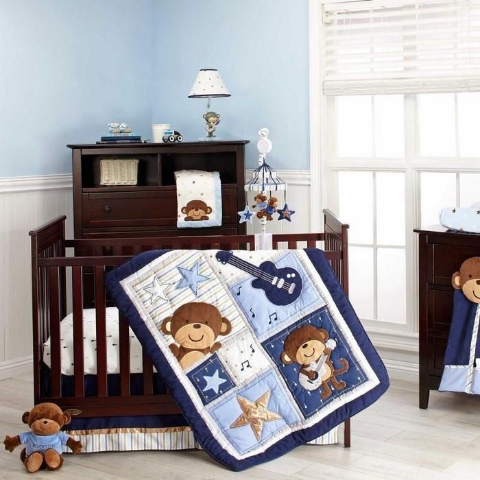 Kinderzimmer-farblich-gestalten-mit-Braun-Eine-tolle-Еinrichtung