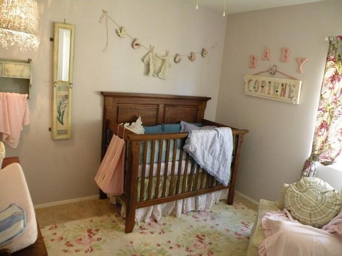 farblich gestalten braun ~ Wandgestaltung Kinderzimmer mit Braun ...