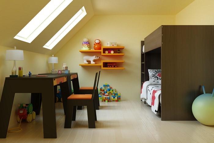 Kinderzimmer-farblich-gestalten-mit-Braun-Eine-tolle-Entscheidung