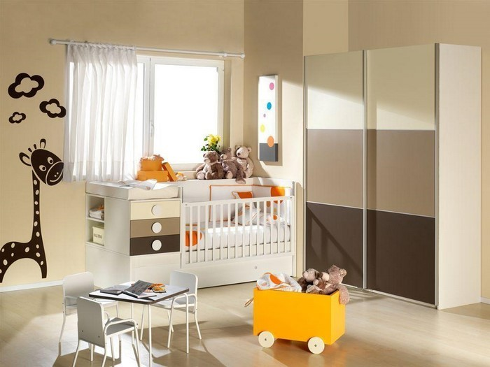 Kinderzimmer Farblich Gestalten: 70 Wohnideen Mit Der Farbe Braun ...