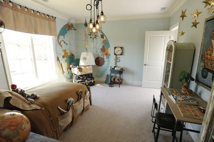 Kinderzimmer-farblich-gestalten-mit-Braun-Eine-wunderschöne-Ausstattung