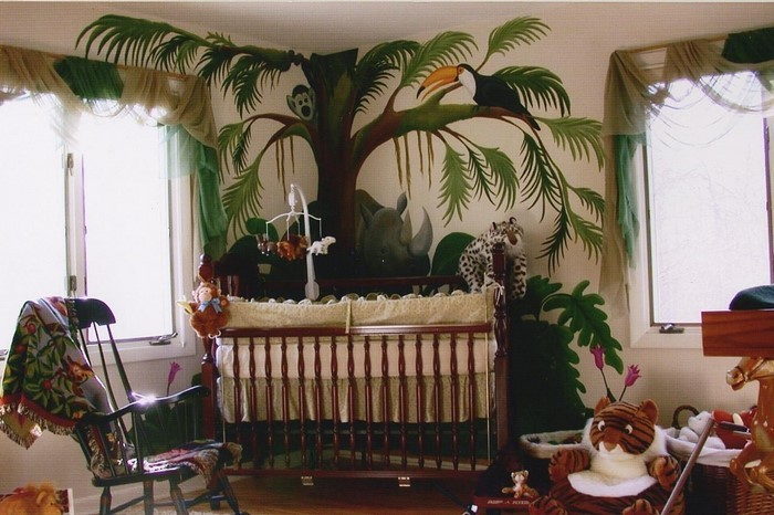 Kinderzimmer-farblich-gestalten-mit-Braun-Eine-wunderschöne-Gestaltung