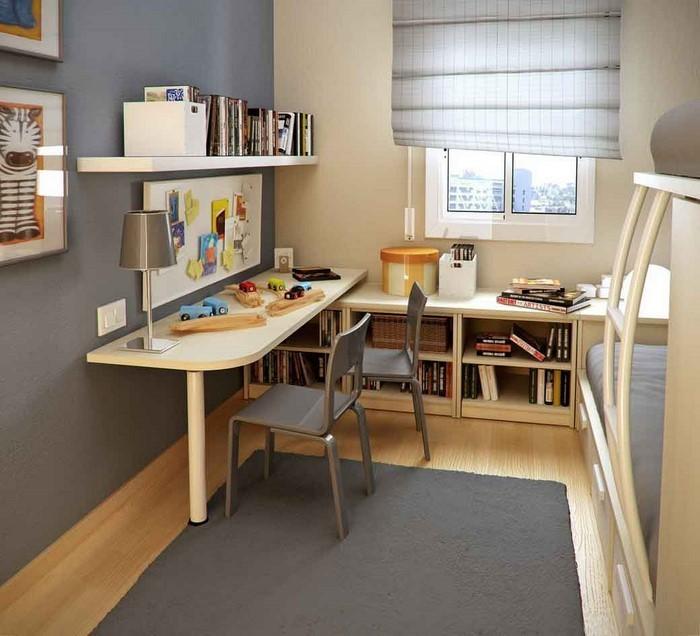 Kinderzimmer-gelb-Ein-außergewöhnliches-Design