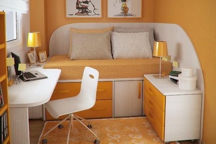 Kinderzimmer-gelb-Ein-auffälliges-Interieur