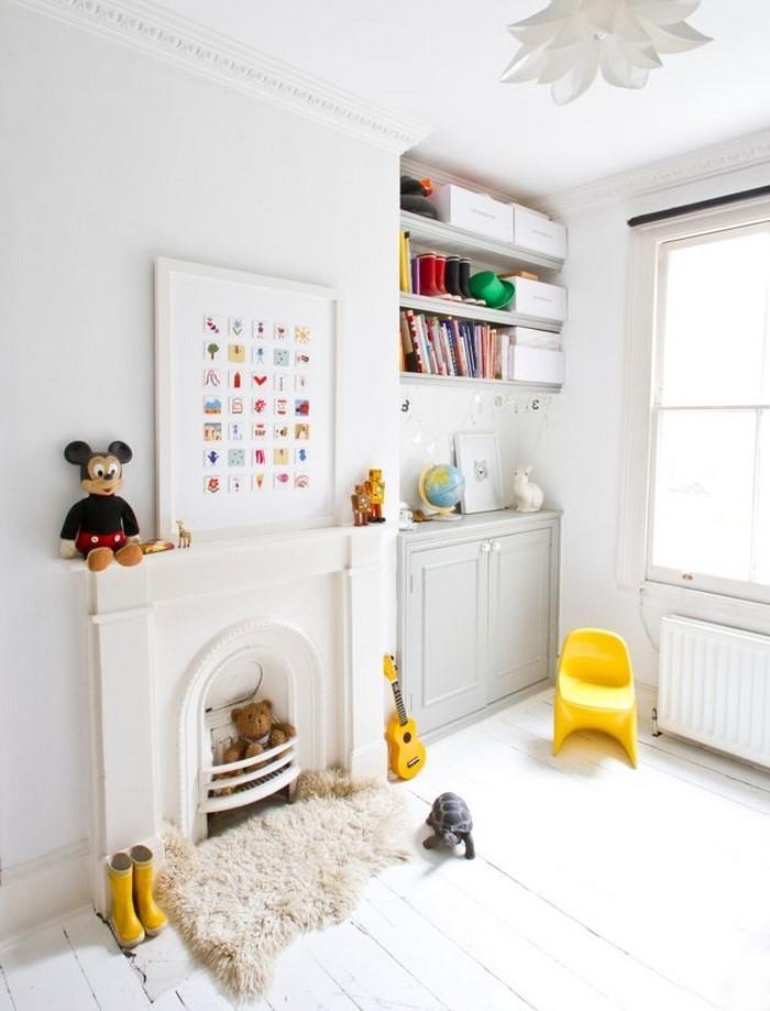 Kinderzimmer-gelb-Ein-super-Interieur