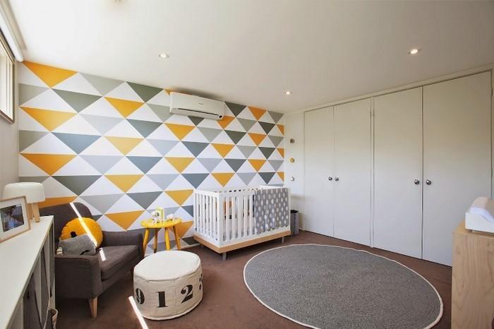 Kinderzimmer-gelb-Ein-wunderschönes-Design