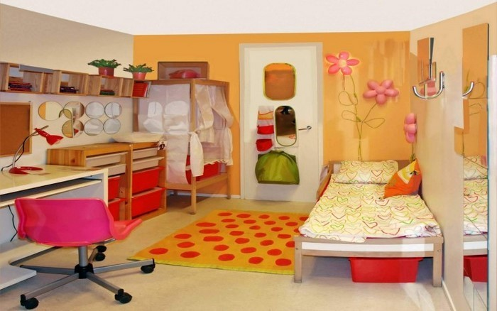 Kinderzimmer-gelb-Eine-außergewöhnliche-Dekoration