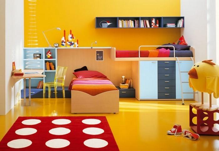 Kinderzimmer-gelb-Eine-außergewöhnliche-Entscheidung (Copy)