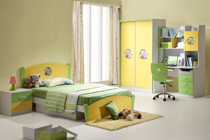 Kinderzimmer-gelb-Eine-auffällige-Ausstrahlung