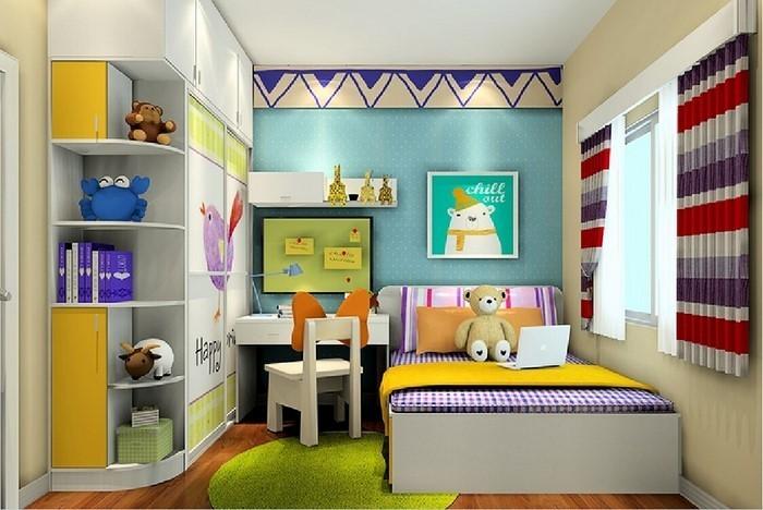 Kinderzimmer-gelb-Eine-coole-Ausstrahlung