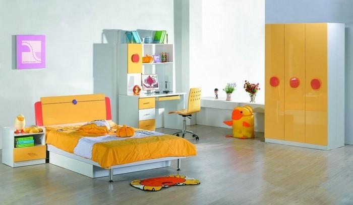 Kinderzimmer-gelb-Eine-coole-Dekoration