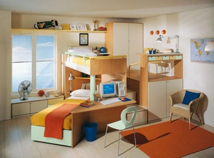Kinderzimmer-gelb-Eine-coole-Gestaltung