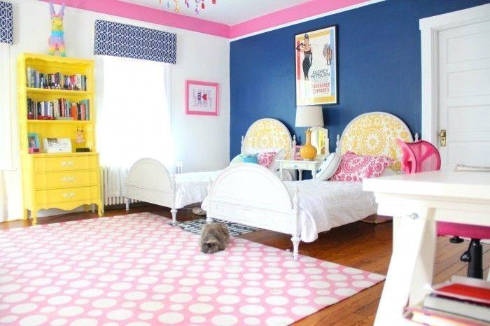 Kinderzimmer-gelb-Eine-kreative-Deko