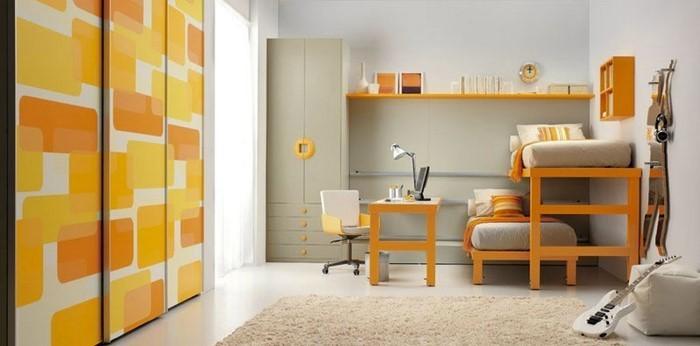 Kinderzimmer-gelb-Eine-moderne-Entscheidung